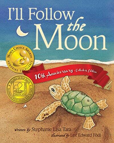 Free Kindle Children's' Picture Book: I'll Follow the Moon — 10th Anniversary Collector's Edition - 4.7 stars in 1,588 reviews - Amazon