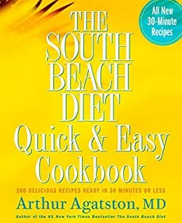 Kindle eBook Cookbook: The South Beach Diet Quick and Easy Cookbook by Dr. Arthur Agatston 94.5 stars in 1,957 reviews) - $1.99 - Amazon and Google Play