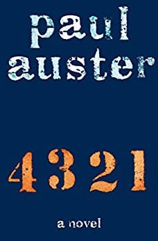 Kindle eBook Literature 4 3 2 1 by paul Auster - $3.99 - Amazon and Google Plsy