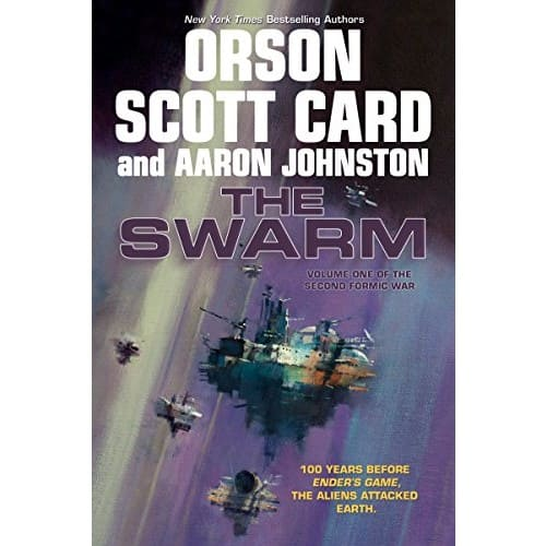 Kindle Sci-Fi eBook: The Swarm: The Second Formic War (Volume 1) by Orson Scott Card & Aaron Johnston - $2.99 - Amazon, Google Play, B&N Nook