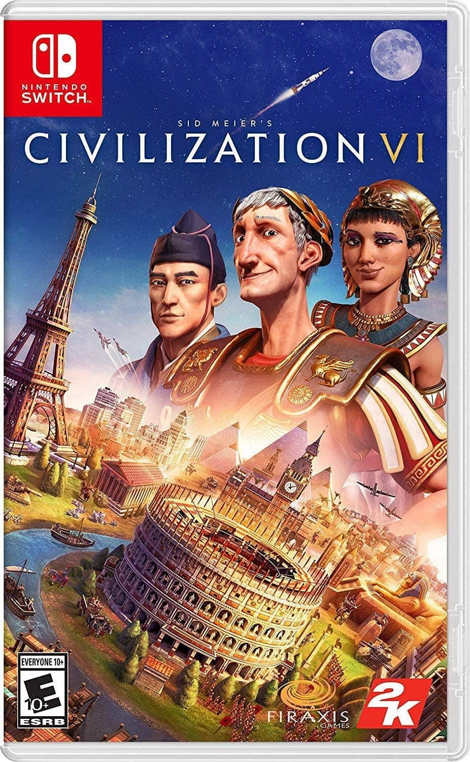 Nintendo Switch game: Civilization VI (physical copy) - $14.99 - Amazon, Best Buy and Gamestop