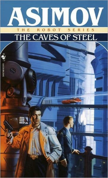 Kindle Classic Sci-Fi eBook: The Caves of Steel (The Robot Series Book 1) by Isaac Asimov - $1.99 - Amazon, Google Play, B&N Nook, Apple Books and Kobo