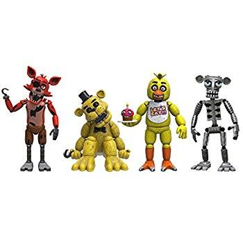 """Funko Five Nights at Freddy's 4 Figure Pack 2"""" $9.42 + Free Shipping"""