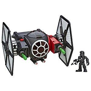 Playskool Heroes Galactic Heroes Star Wars First Order Special Forces TIE Fighter $14.99 + Free Shipping