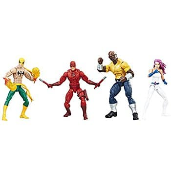 Hasbro Marvel Legends Series The Defenders Figure (4-pack) $55.99 + Free Shipping