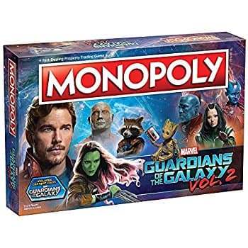 Children's Guardians of the Galaxy Volume 2 Monopoly Game $20.97 + Free Shipping