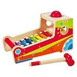 Hape Wooden Instrument Bench $13.28
