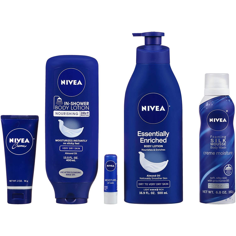 Prime Members: 5-Piece Nivea Pamper Time Gift Set $12.47 + Free Shipping