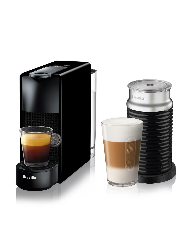 Nespresso Essenza Mini espresso machine by Breville with Aeroccino bundle $100 @Bloomingdale's, Free pickup in store