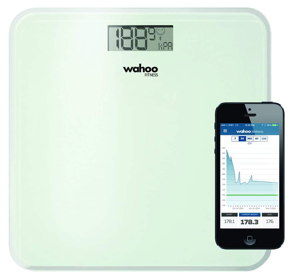 Amazon.com has Wahoo Balance Bluetooth Smart Scale for iPhone and iPad $19.99