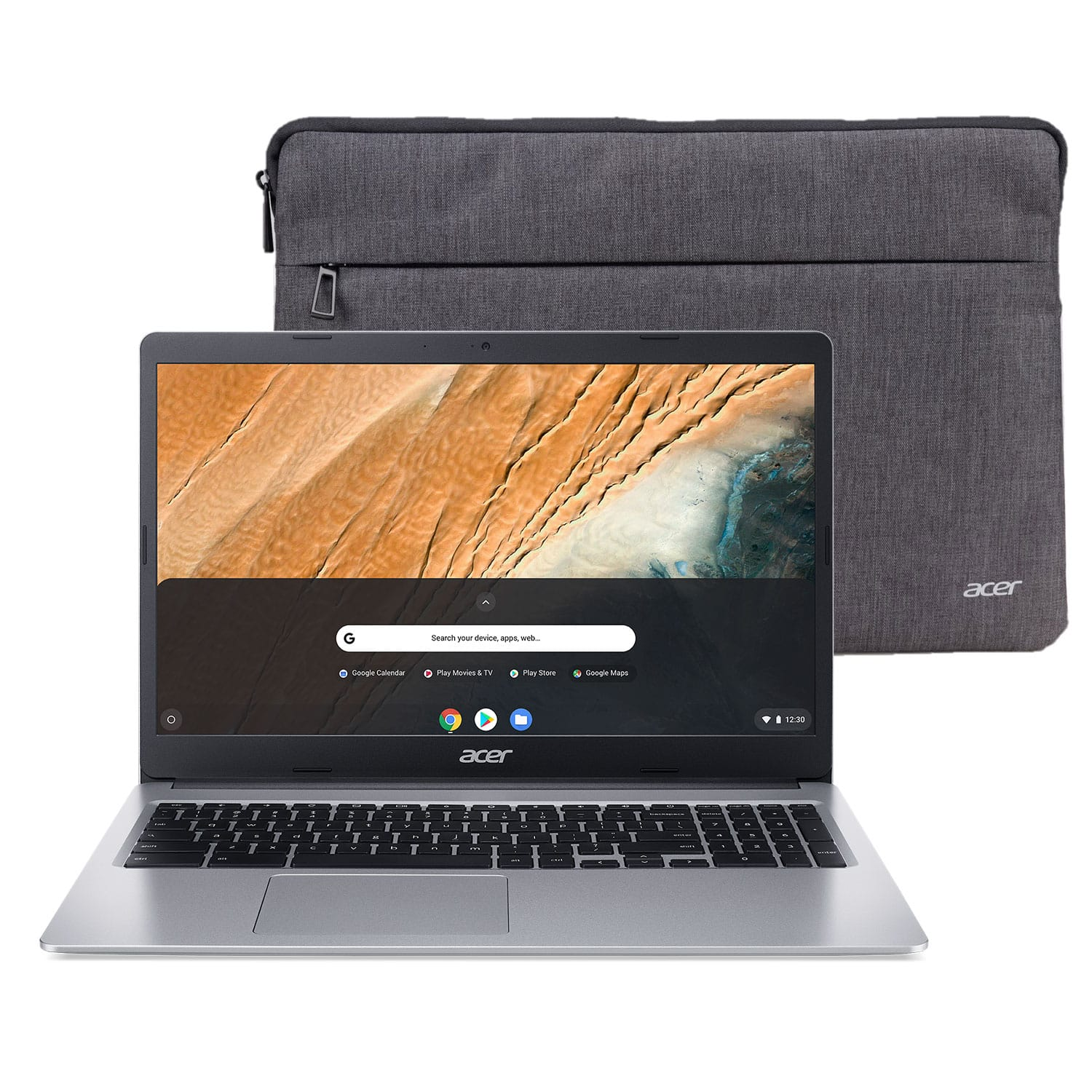 "BIS @ WM $179 Acer 315 15.6"" Celeron 4GB/32GB Chromebook, 15.6"" HD Display, Intel Celeron N4000, 4GB LPDDR4, 32GB eMMC, Protective Sleeve, Chrome OS - CB315-3H-C2C3"
