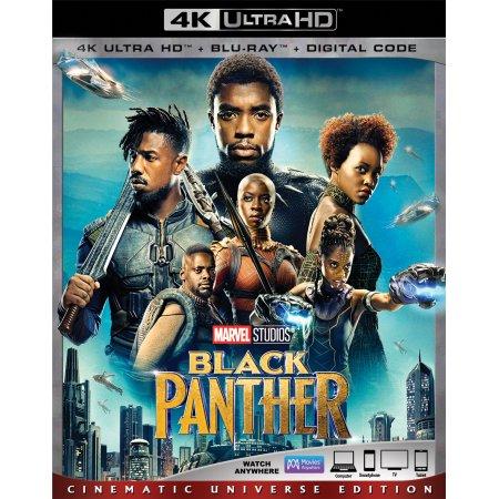 Black Panther 4K Ultra HD (+ Blu-ray + Digital Code): $24.99 at Walmart