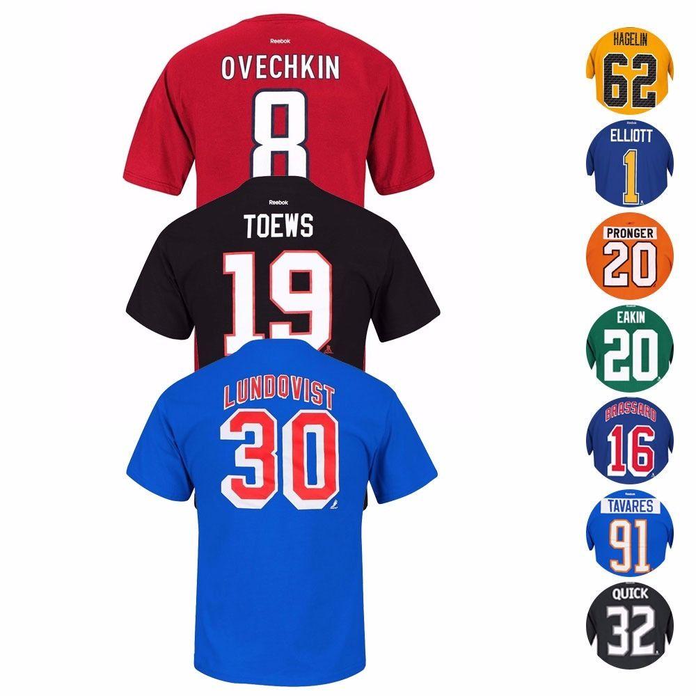 Reebok NHL player t-shirts $11 w/FS