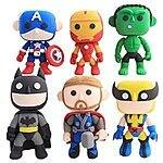12% OFF Cartoon Superhero DIY Modeling Clay Kit + Free Shipping w/Amazon.com