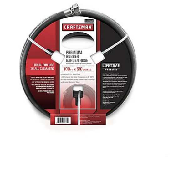"""Craftsman 69605 100' x 5/8"""" All-Rubber Hose $32.99 or Less + Free Store Pickup at Kmart"""