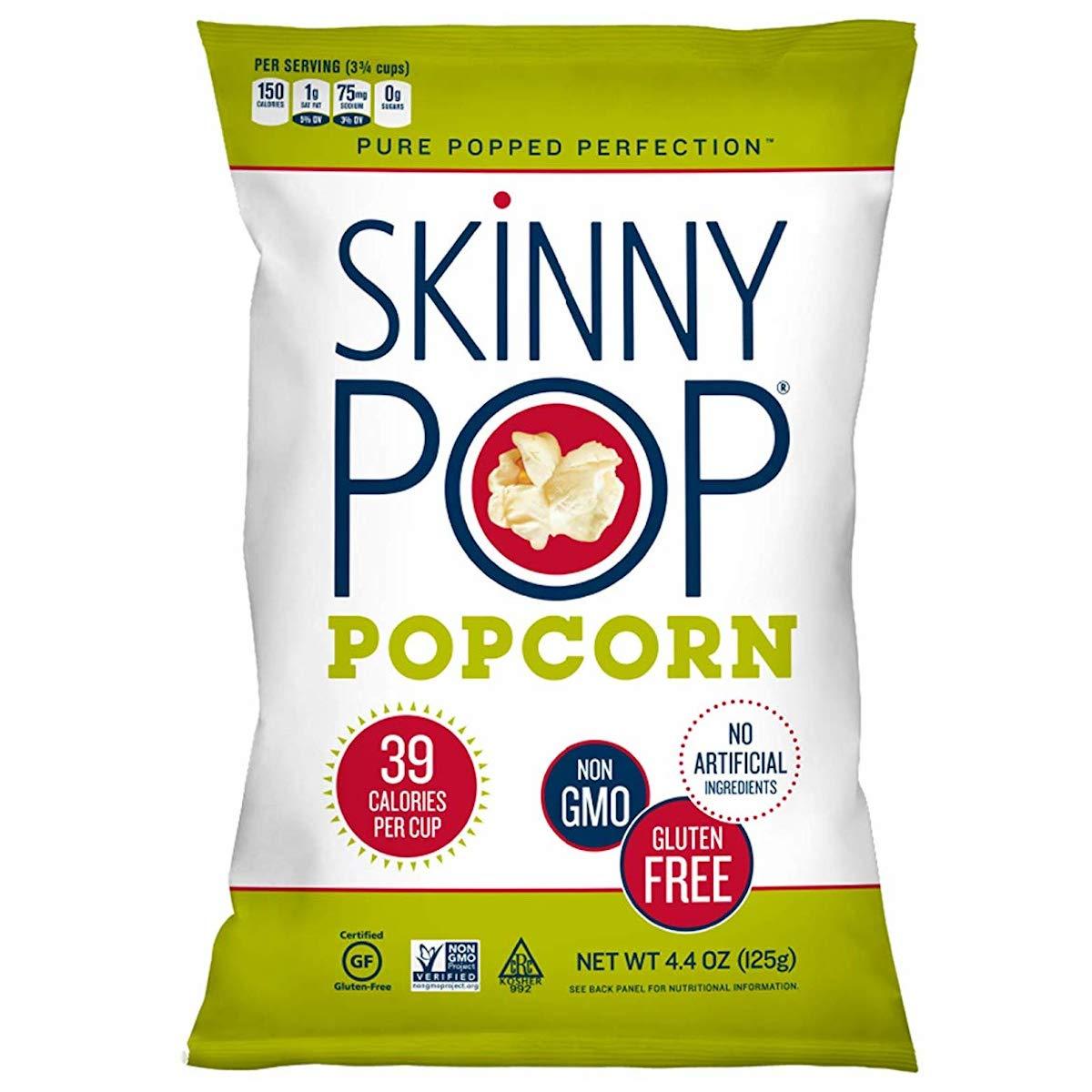 Skinny Pop Popcorn 4.4oz Bag $2.38