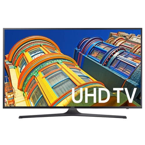 "Samsung 70"" Class (69.5"" Diag.) 4K Ultra HD LED LCD TV UN70KU630DFXZA Costco $1649.99"