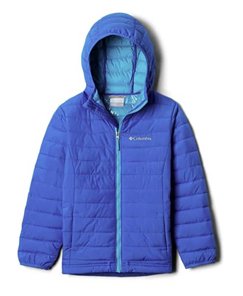 Columbia Powder Lite Boys Hooded Jacket - X-Large - Super Blue $23.53