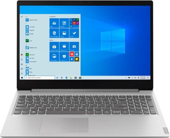 "Lenovo IdeaPad 15.6"" Laptop - AMD Ryzen 3 3200U - 8GB RAM - 256GB NVMe SSD - 1080p 1920 x 1080 - Platinum Gray w/ free shipping at BestBuy - $380"