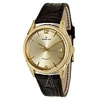 Ashford Deal: Hamilton Jazzmaster Thin-o-matic Men's Automatic Watch Gold Dial $399