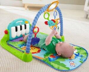 006dcd50f Fisher-Price Kick and Play Piano Gym Blue Green For  19.99   Amazon ...