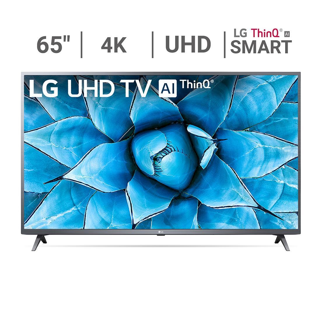 "LG 65"" UN7300 LED 4K UHD Smart TV $529.99"