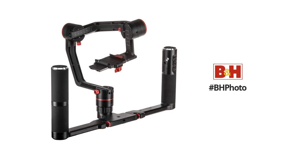 Feiyu A2000 3-Axis Gimbal, 2-Hand Holder, and Carry Case Kit $249.00+FS @ BH Photo Video