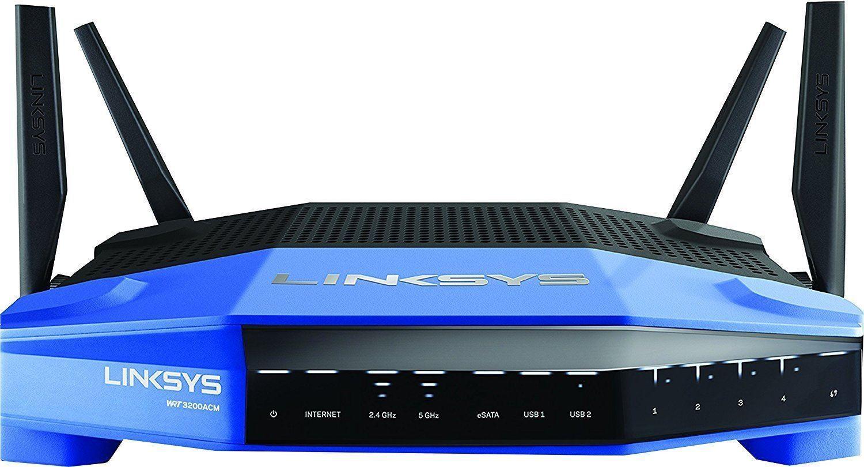 Linksys WRT3200ACM AC3200 MU-MIMO Wifi Router (Certified Refurbished) Linksys via eBay $89.99 + FS