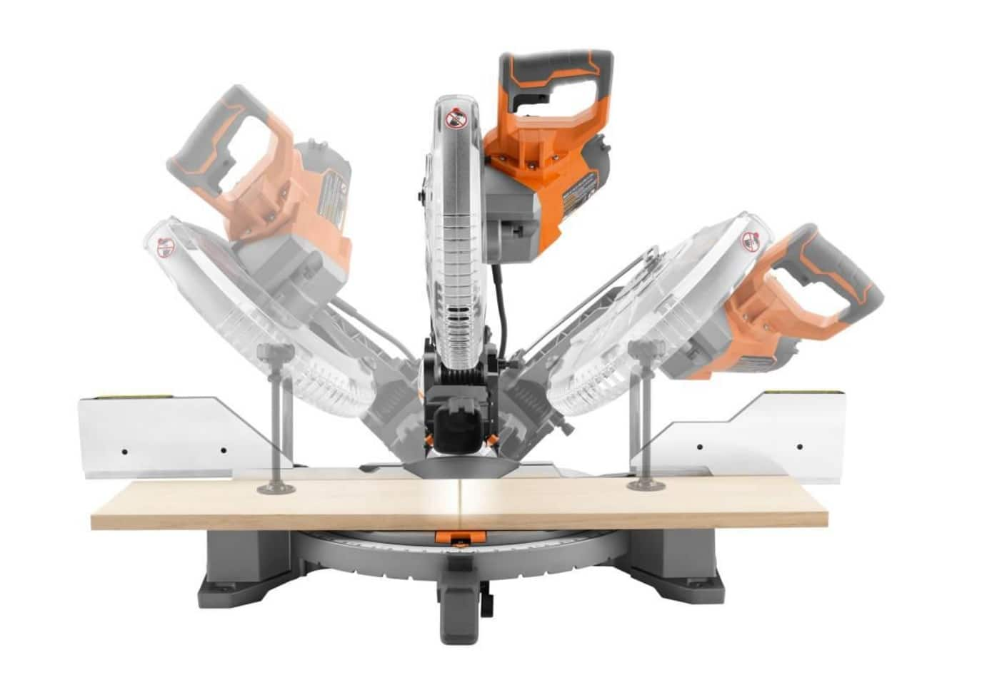 RIDGID 15 Amp 12 In. Dual Bevel Miter Saw with LED Factory Blemished($199.99 + Store Pickup)