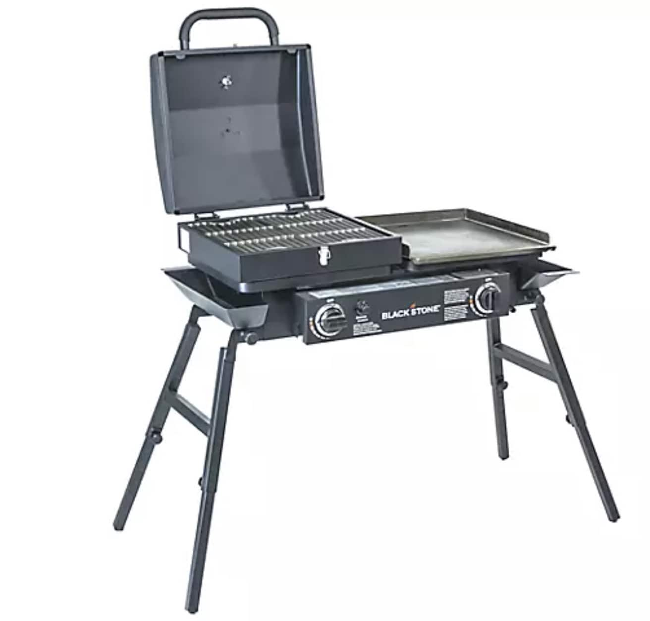 Blackstone Gas Tailgater Combo Grill with bonus cover -Model 1827($199.99 + Free Shipping)