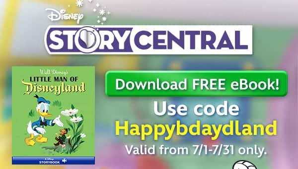 Disney Story Central - Little Man of Disneyland ebook (FREE)