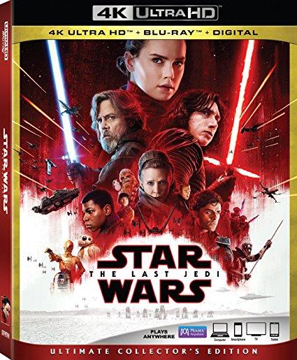 Star Wars: The Last Jedi 4K $22.49 at Amazon