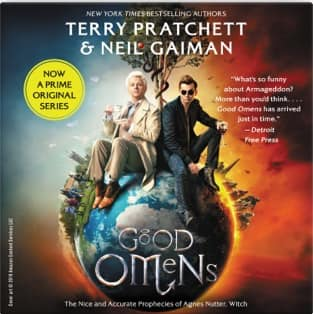 Apple Books Good Omens by Neil Gaiman & Terry Pratchett Audiobook for $2.99