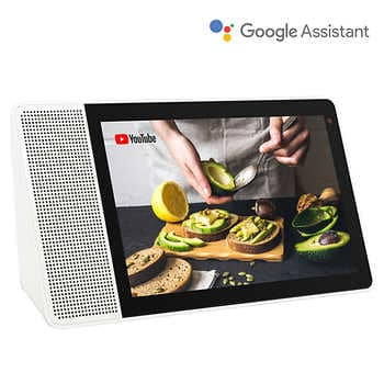 """Lenovo 10"""" Smart Display with Google Assistant Built-In $99.97"""