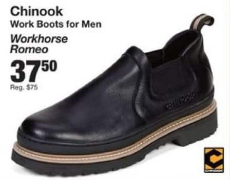 Fred Meyer Black Friday: Chinook Men's Workhorse Romeo Boots for $37.50
