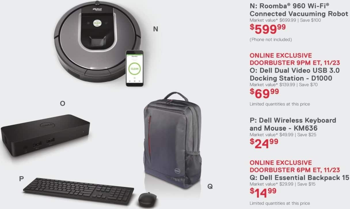 Dell Home & Office Black Friday: Dell Essential Backpack 15 for $14.99