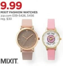 JCPenney Black Friday: Mixit Fashion Watches, Select Styles for $9.99