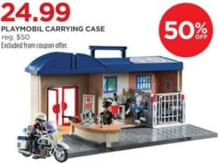 JCPenney Black Friday: Playmobil Carrying Case for $24.99