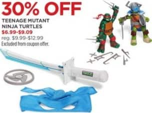 JCPenney Black Friday: Teenage Mutant Ninja Turtles - 30% Off