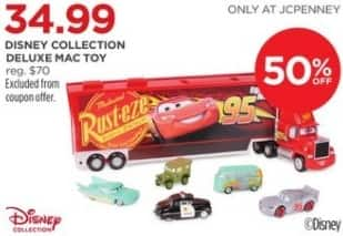 JCPenney Black Friday: Disney Collection Deluxe Mac Toy for $34.99