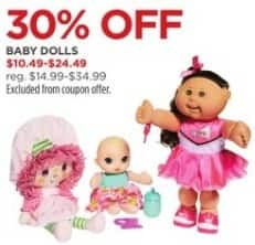 JCPenney Black Friday: Baby Dolls, Select Styles for $10.49 - $24.49