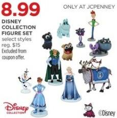 JCPenney Black Friday: Disney Collection Figure Set, Select Styles for $8.99