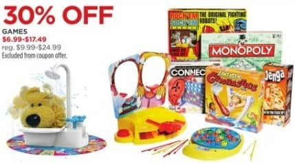 JCPenney Black Friday: Board Games and Kids' Games, Select Styles for $6.99 - $17.49