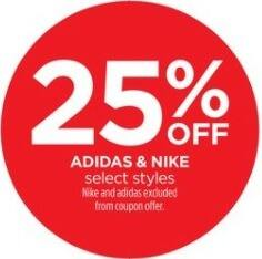 JCPenney Black Friday: Adidas & Nike, Select Styles - 25% Off