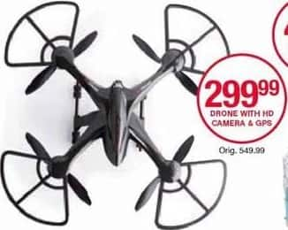 Belk Black Friday: Drone with HD Camera & GPS for $299.99