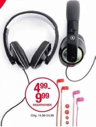 Belk Black Friday: Headphones for $4.99 - $9.99
