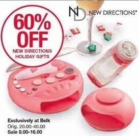 Belk Black Friday: New Directions Holiday Gifts - 60% Off