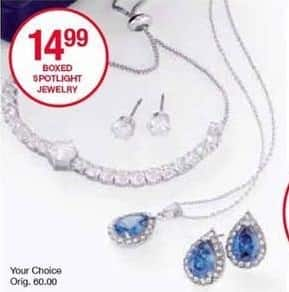 Belk Black Friday: Boxed Spotlight Jewelry for $14.99