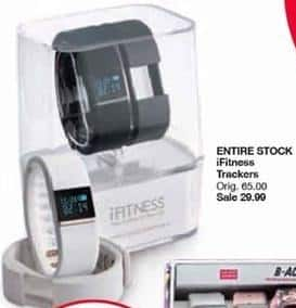 Belk Black Friday: Entire Stock iFitness Trackers for $29.99