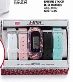 Belk Black Friday: Entire Stock B.Fit Trackers for $19.99